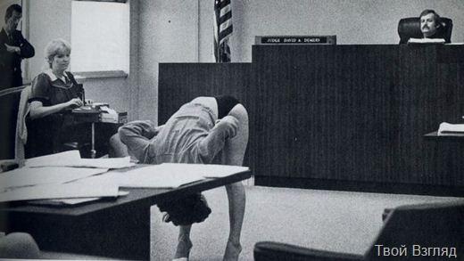 США, 1983 год, суд над исполнительницей экзотических танцев