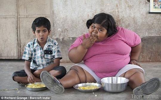Самая толстая 6-летняя девочка