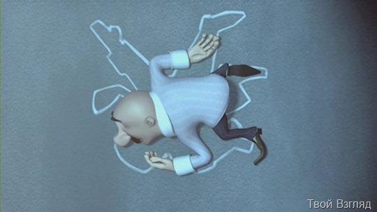 Веселый мультфильм про рассеянного грабителя