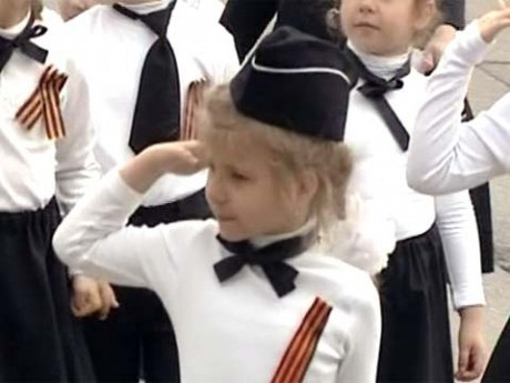 Парад дошкольных войск