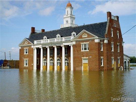 Наводнение в Виксбурге
