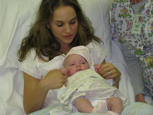 Натали Портман с сыном (фото)
