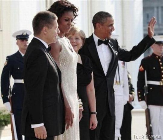 Мишель Обама понравилась Ангеле Меркель