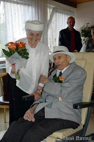 Самые старые жених и невеста (2)