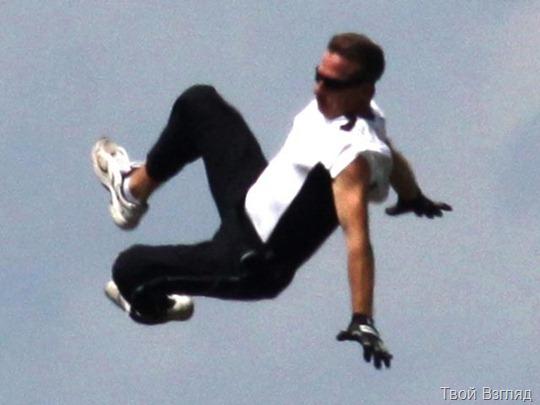 В США на глазах почти 80 тысяч зрителей разбился 48-летний каскадер Тодд Грин
