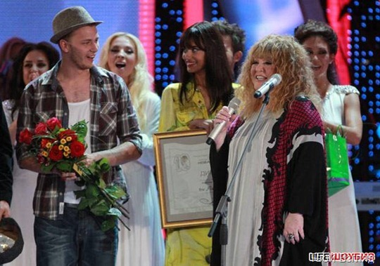 Примадонна российской эстрады дала творческое напутствие молодым исполнителям