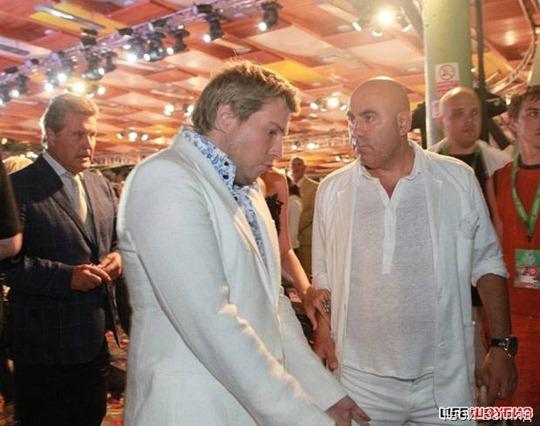 Мужской разговор Николая Баскова с Иосифом Пригожиным состоялся под присмотром Льва Лещенко