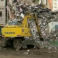 Под завалами обрушившегося дома в Астрахани найдено тело восьмого погибшего
