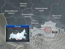 Сильное землетрясение в Туве