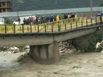 В Турции обрушился мост