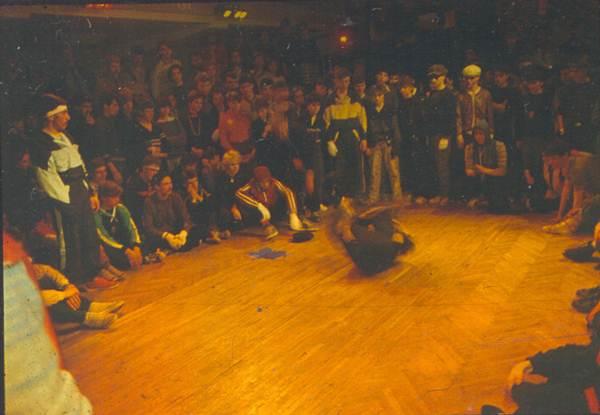 1986 год, первые battles в клубе г. Рига