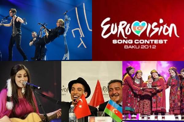 Финалисты Евровидения 2012
