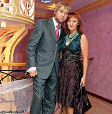 Сергей Светлаков с женой Юлей