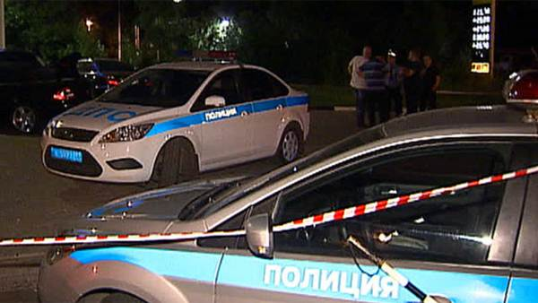 Погоня со стрельбой развернулась накануне вечером на улицах Москвы
