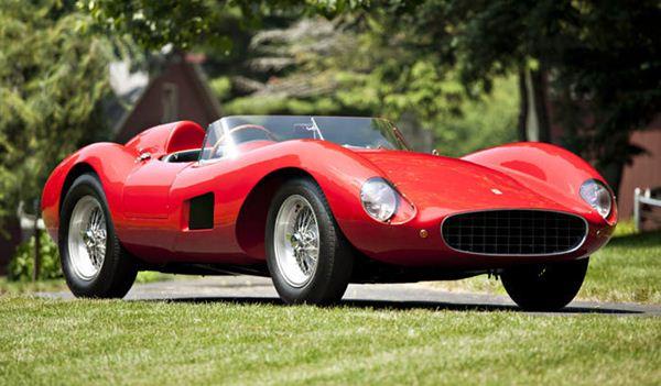 1957 Ferrari 500 TRC by Scaglietti