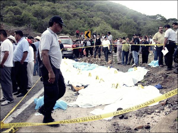 Гибель туристов в Мексике