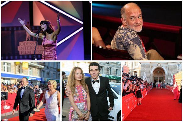 Церемония открытия Одесского кинофестиваля