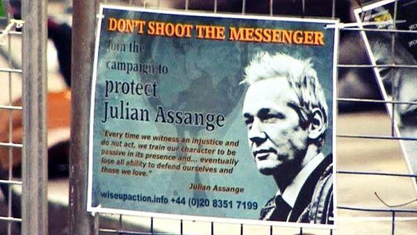 Основатель скандального сайта Викиликс