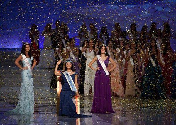 Победительница конкурса Мисс Мира 2012 Ю Венься