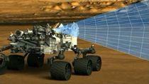 Первый цветной снимок Марса