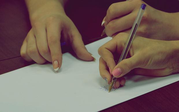 Загадка дня: что писали гимнастки?